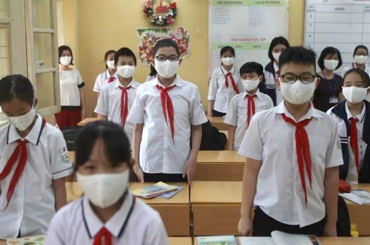 students in vietnam schools