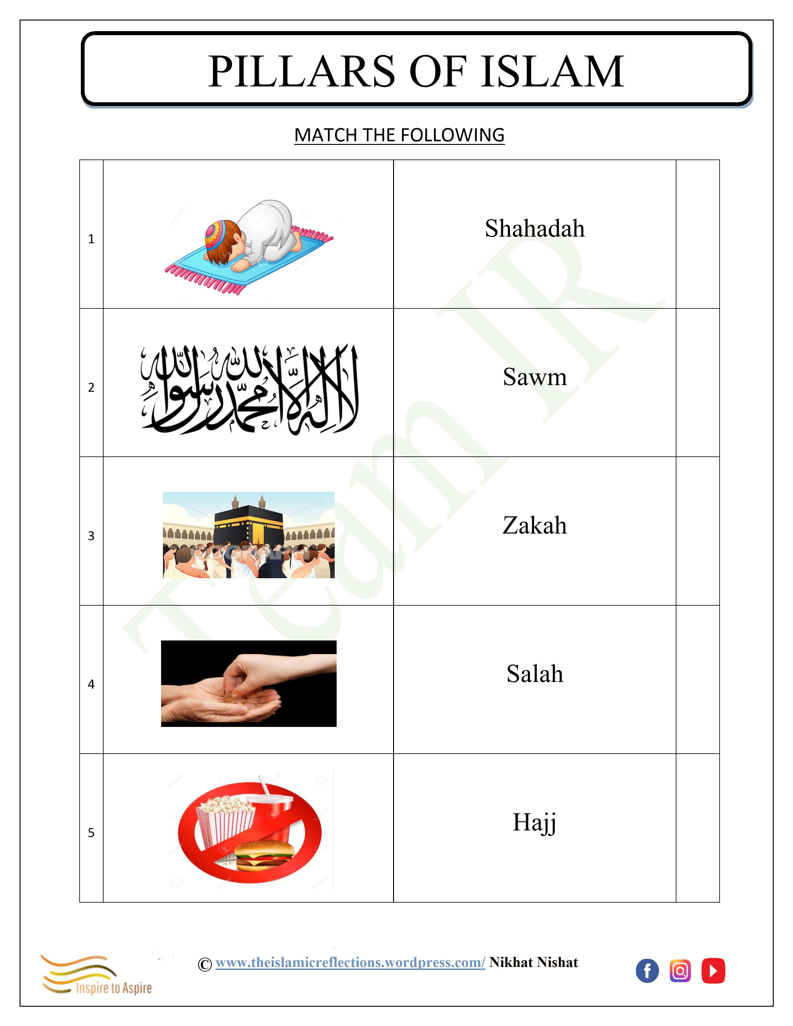 Pillars Of Islam 5 7