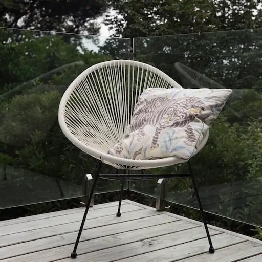 Acapulco Chair white acapulco chair the island collection