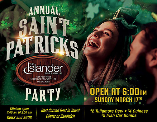 2019 St. Patrick's Day Party