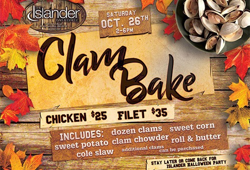 Join Us For Our Annual Clam Bake