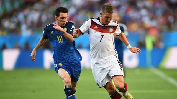 2014 FIFA World Cup – Argentina captain Lionel Messi and ...