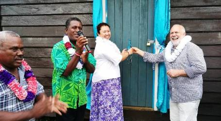 NZ High Commissioner Opens East Malaita ECE Centres