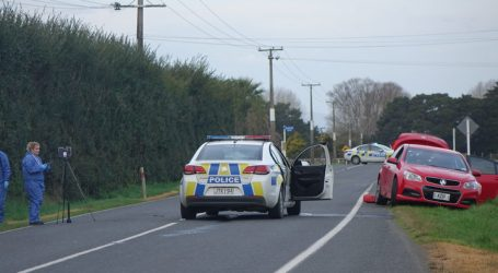 Morrinsville resident hunkers down during police shoot out