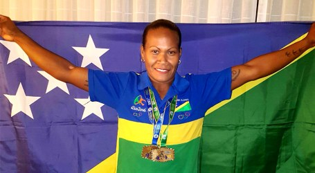 Wini won Commonwealth gold