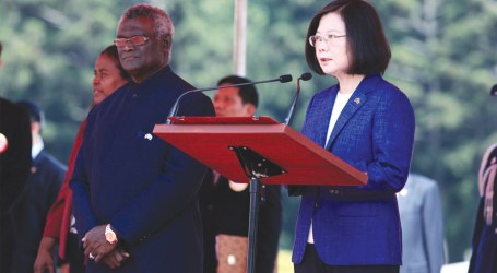 Taiwan president to address parliament next Thursday