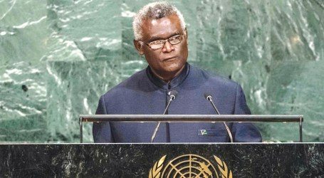 PM Sogavare highlights 2017 challenges at UNGA