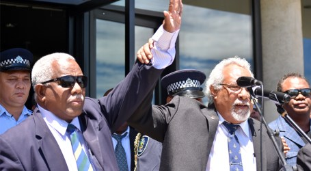Hou voted in as Solomon Islands' new Prime Minister