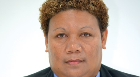 Only female MP welcomes MP elect