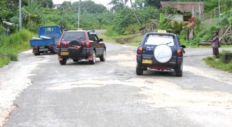 Auki roads in bad state