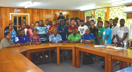 Youth groups dialogue with HCC leaders