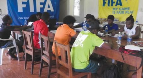 Futsal coaching course underway