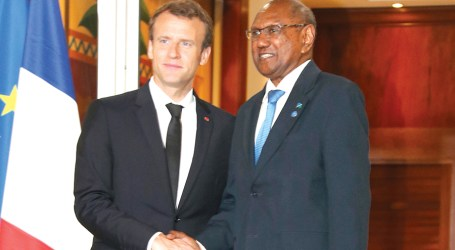 Tozaka attends high level dialogue with French President