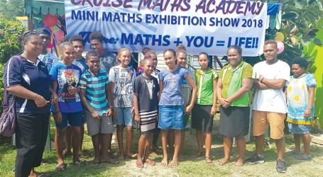 Exhibition for math as a fun subject