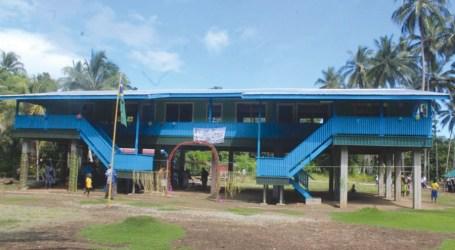 New school building for Santupaele
