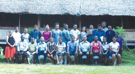 Honiara youth leaders train for facilitators