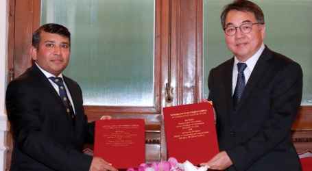 SIPA and Taiwan's maritime and port bureau sign MOU on maritime cooperation