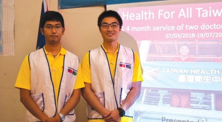 Young Taiwan doctors complete 4 month medical journey