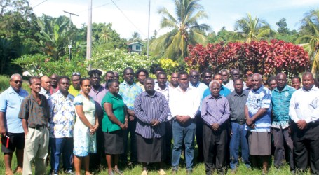Orientation and Training programme for WPG and HoDs begins in Gizo