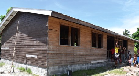 Luaniua community without health centre for 2 years
