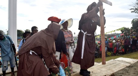 Catholic Church marks 450 years of the Cross Arrival