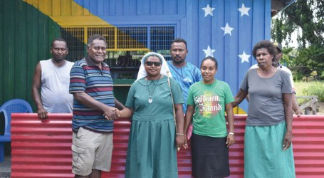Maneka supports Melanesian sisters with housing material