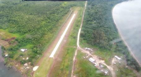 Isabel's Suavanao airfield reopens