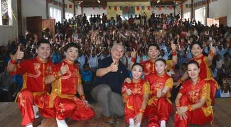 PWDSI enjoys performances from visiting Taiwan acrobats