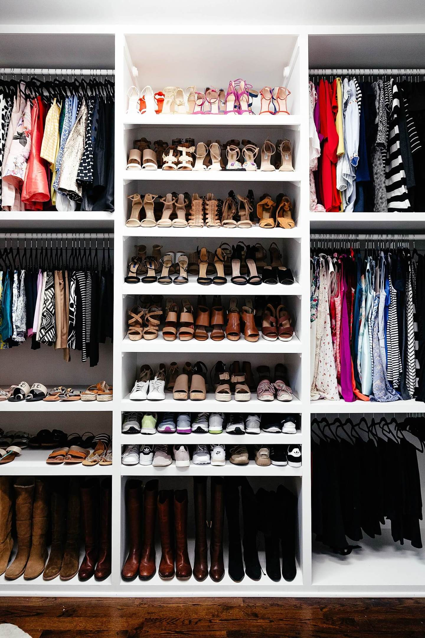 closet-inspiration-shoe-collection