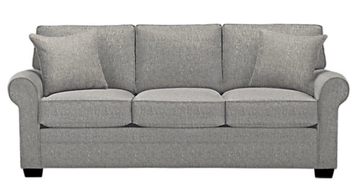 Cindy Crawford Home - Bellingham Gray Sofa