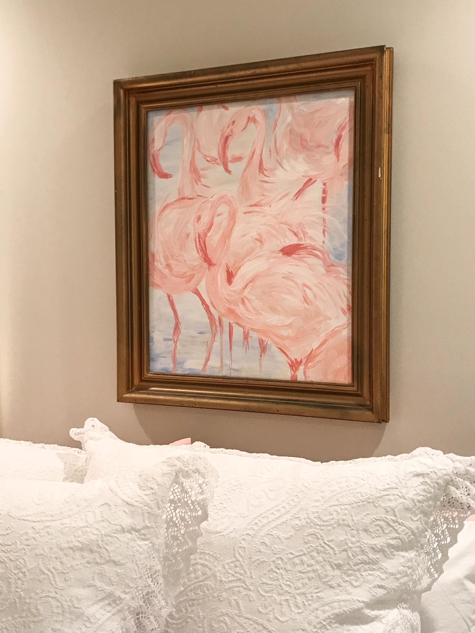 diy-artwork-flamingos