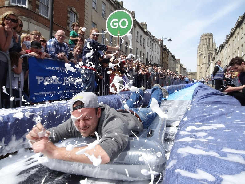 Bristol Slide Photo by Luke Jerram