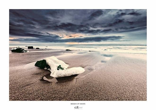 tg david townsend beach at dawn