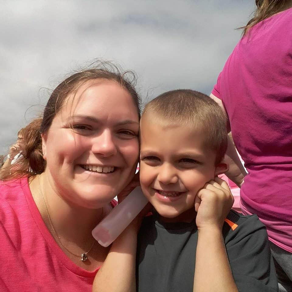 rfl4 Nicola Chambers and her 5-year-old