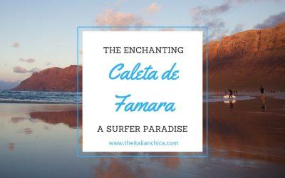 Caleta de Famara: il paradiso dei surfisti