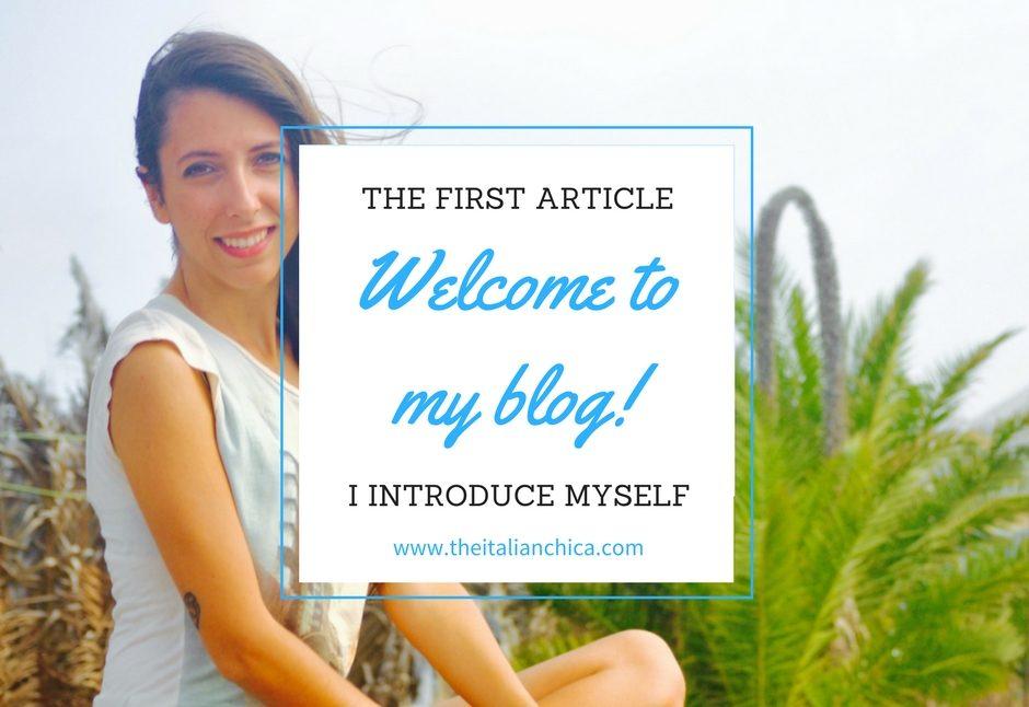 Benvenuti nel primo articolo del mio blog!
