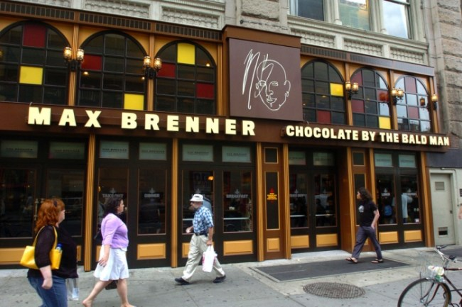 Max Brenner Chocolate Bar Restaurant The Italian Guest