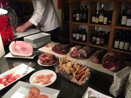 Osteria della Brughiera, the cellar