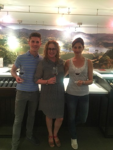 Me, Ryan O'hara (thefermentedfruit.com) and Stephanie Block, communication manager of the estate