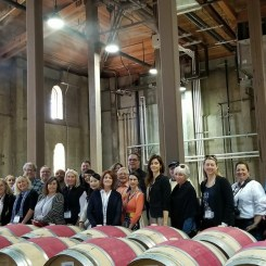 With my collegues Wine Writers