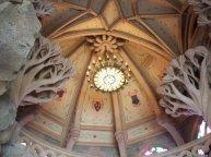 Inside the sleeping beauty's castle