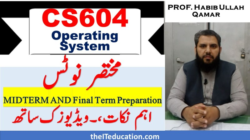 cs604 short notes pdf for midterm and final term preparation