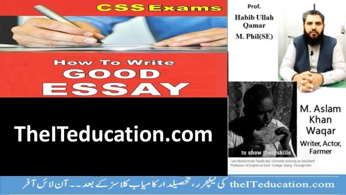 how to wirte essay in css preparation