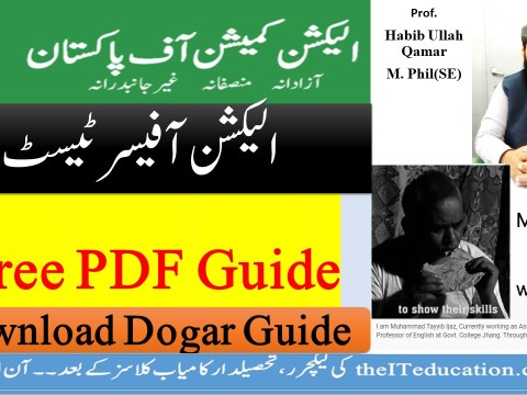 Election officer TEst Preparation and Recruitment guide free pdf download