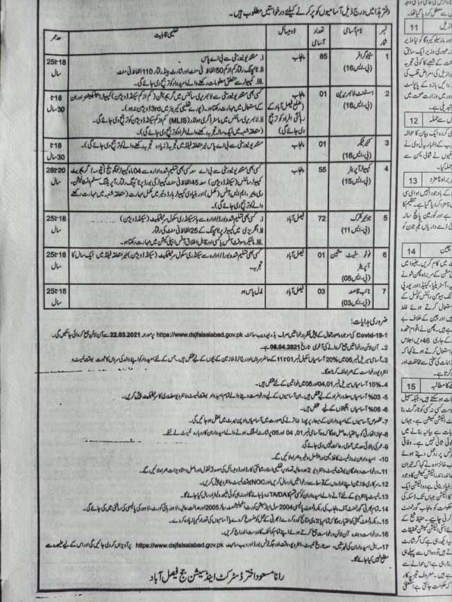 District-and-Session-Courts-Faisalabad-Jobs-2021
