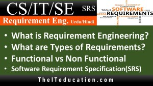 Different Types of Software Requirement - Functional, Non-Functional - SRS