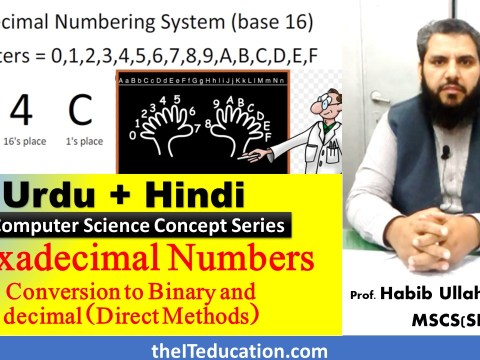 Hexadecimal Number to Binary Direct Conversion-