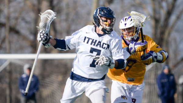 Men's lacrosse takes down Nazareth College 10–6 | The Ithacan