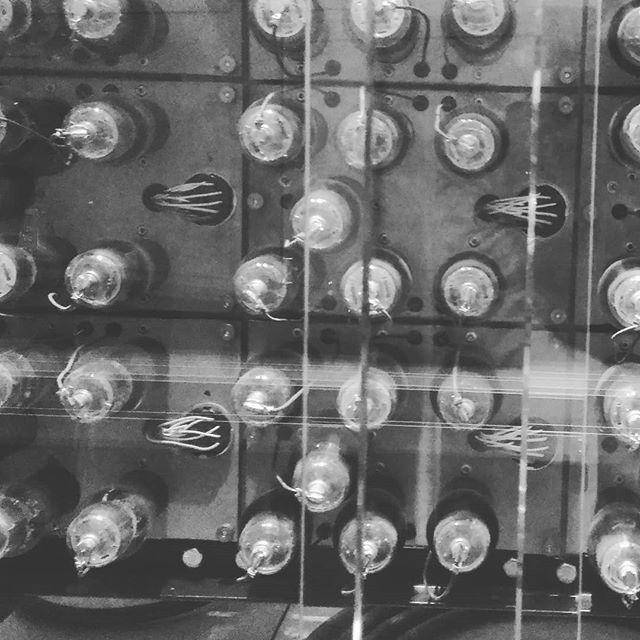 Vacuum tubes inside Aranasoff Berry Computer