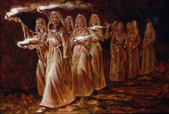 Five-Wise-and-Five-Foolish-Virgins